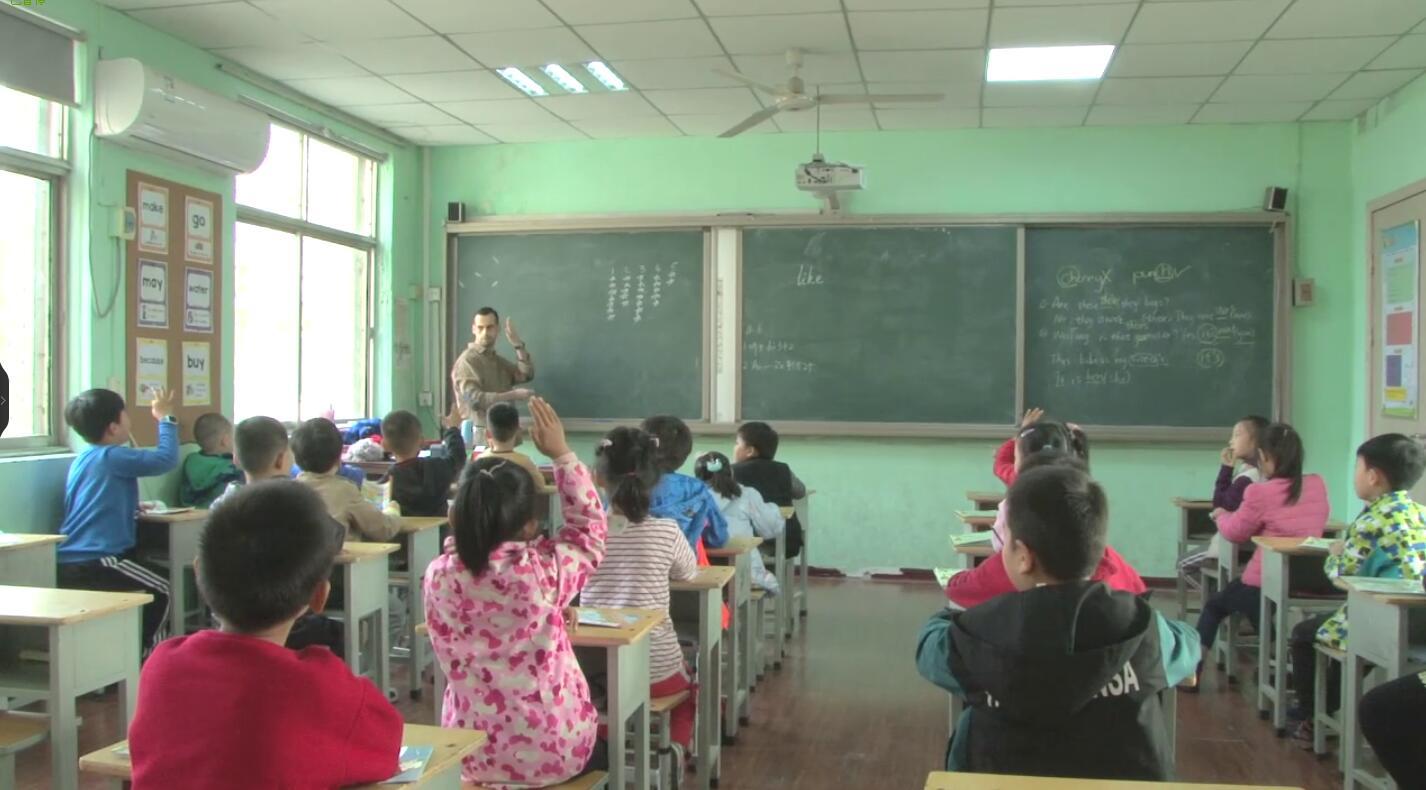 郑州市二七区外国语小学 外教课展示