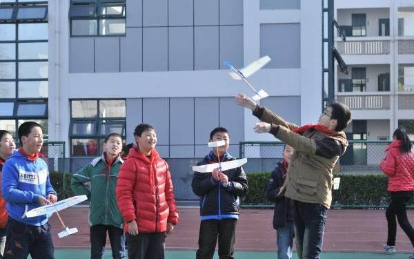【太仓市实验小学】高年级橡筋动力飞机比赛