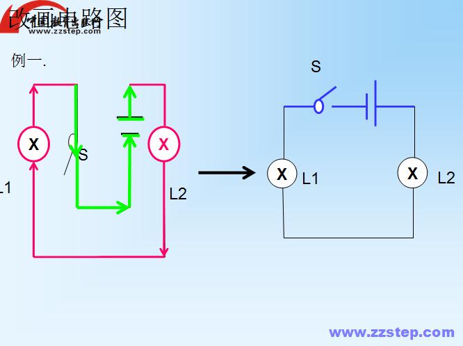 串联并联电路图练习_接线图分享